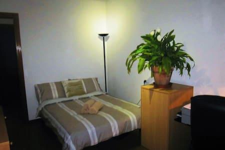 Habitacion con cama doble - Gijón - Apartment