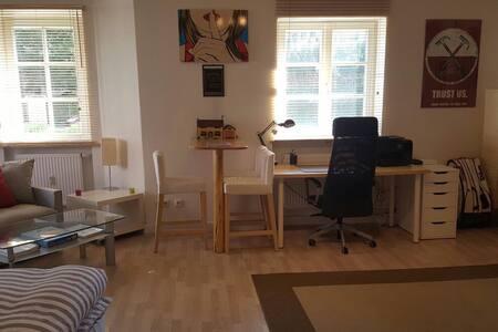 Gemütliche 1,5 Zimmer Wohnung direkt am Innufer - Apartamento