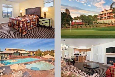2 Bedroom Wyndham Angels Camp, CA - Byt