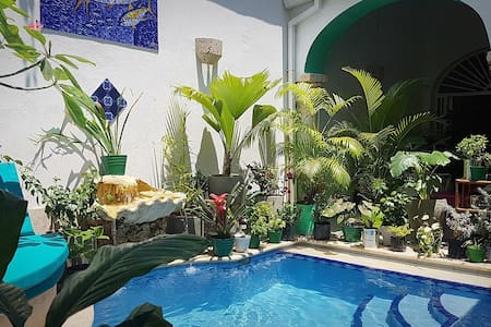 Old City Oasis - Private 1, Pool Side - Cartagena - House