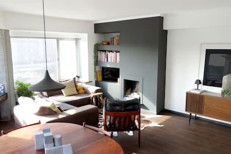 Private living room and bedroom - big and bright! - Apartment