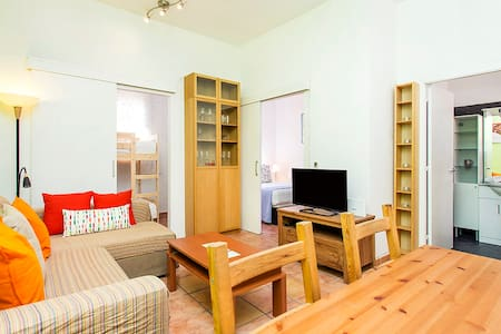 Super Central Top Floor Apartment with Terrace - Barcelona - Apartment