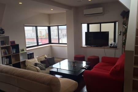 Spacious & Cozy flat with rooftop, near Shibuya - Meguro-ku