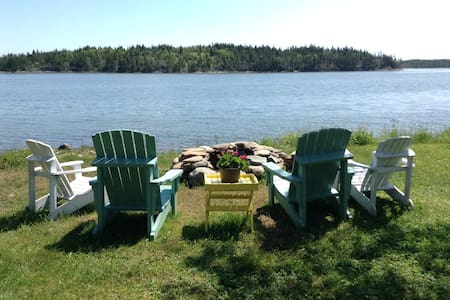 Seaside Suite In Log Home - West Chezzetcook - Talo