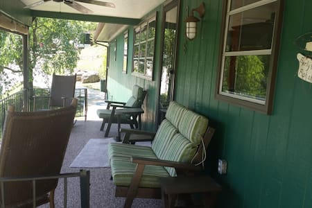 """Happy Hill"" on Norris Lake 2BR/1BA - Casa"