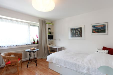 Feel good in a pretty room 20 min. from Frankfurt - Huoneisto
