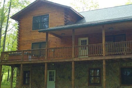 Hideaway Log Cabin @Deep Creek Lake - House