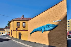 Picture of #Room in the Heart of Kampen: with a blue whale :)