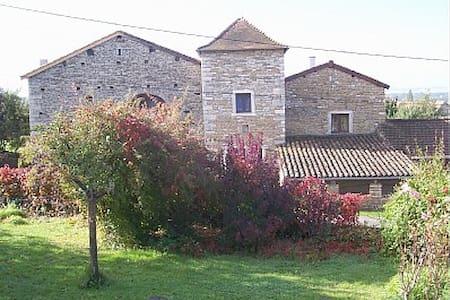PROCHE TAIZE-MAGNIFIQUE MAISON - Chissey-lès-Mâcon - Hus