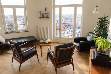 Cosy room in big apartment with panoramic views - Byt