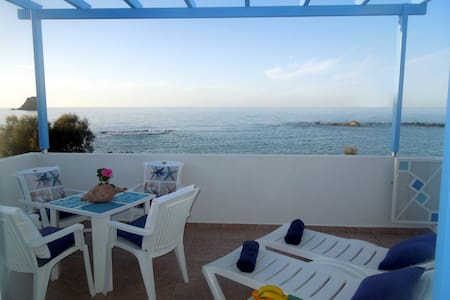 Blue Eden 7 m. from the Aegean Sea - Appartement