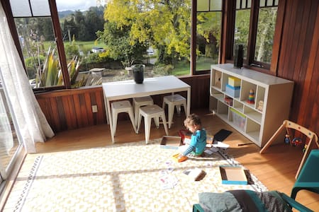 The Waitomo Caves Bungalow - House