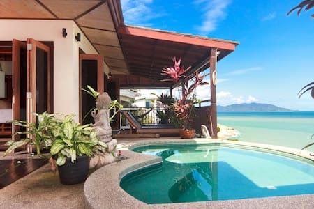 Ocean front villa in Koh Samui - House