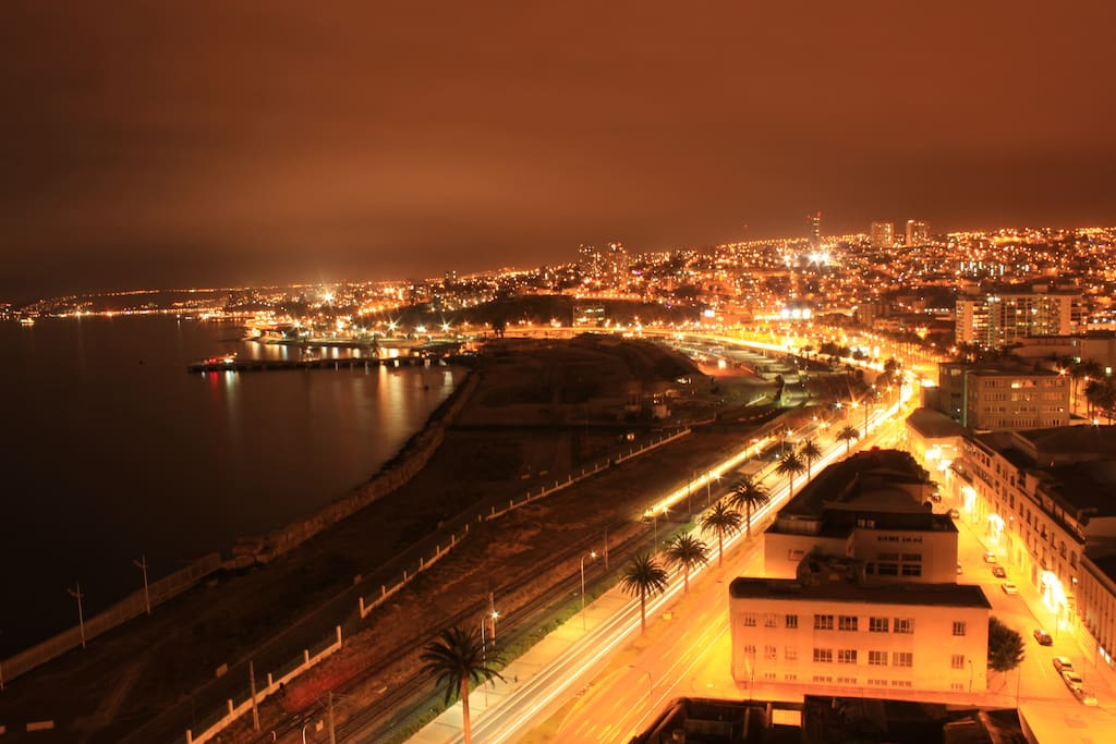 Beautiful Night Sights from the apartment's terrace.
