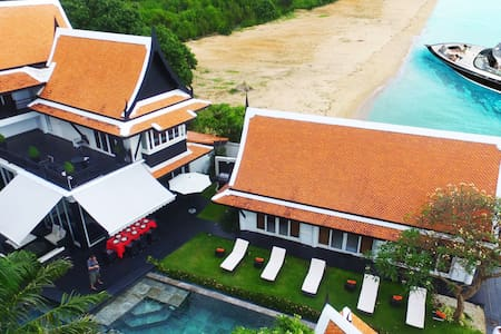 Luxury 5 Star Beach Villa 6 bed - Na Chom Thian