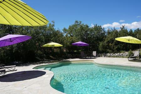 Provence gîte 4p tennis piscine  - Casa