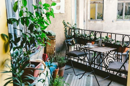 Rooftop Atelier Apt.- Cozy & Lovely - Budapest