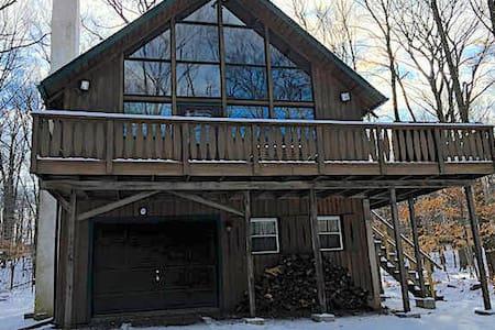 Poconos Lake House W/ Huge Loft - Locust Lake Village - House