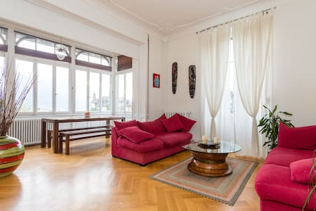 Cozy and well equipped apartment - Montreux