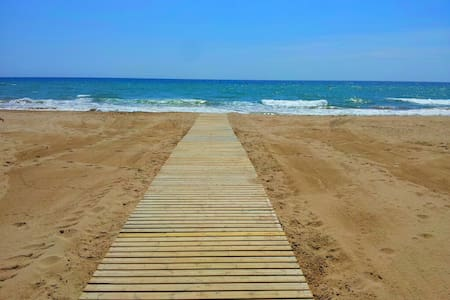 Apt.3 Beach+balcony+view+ Barcelona - Castelldefels - Apartment