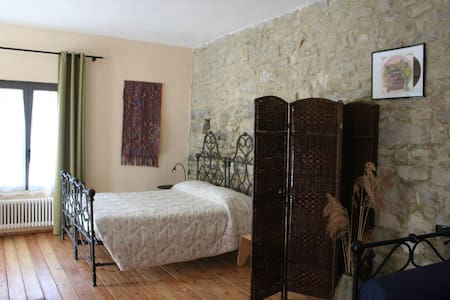 Room for big family with pool, spa and restaurant - Salsomaggiore Terme  - Bed & Breakfast