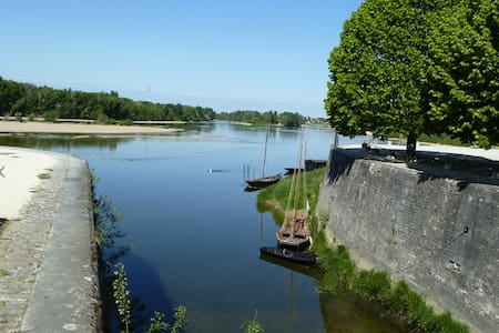 Nice flat close to the Loire river  - Combleux