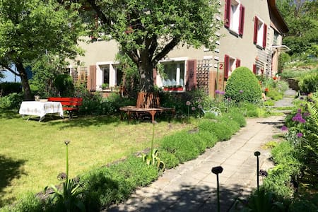 May Fleuri-apt. near the old town/beautiful garden - Engen - Lejlighed