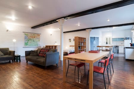Spacious Shoreditch open-plan loft