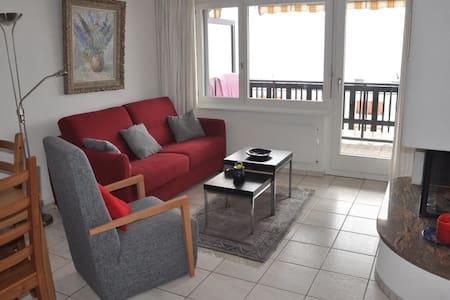 Crans-Montana Swiss Alps, 2.5 pc avec balcon - Randogne - Wohnung