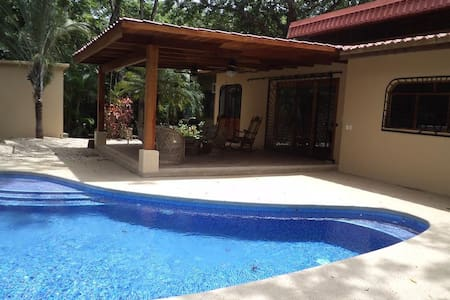 Spacious 3BD villa steps to beach!