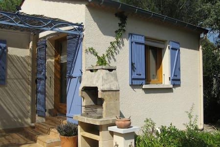 Le Studio à l'abri du Mistral près d'Uzès - Garrigues-Sainte-Eulalie - Dům