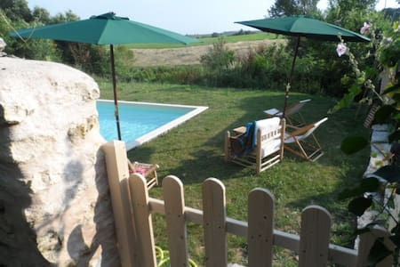 Nice cottage Heated pool. - Boutenac-Touvent - Dom