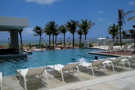 Resort, at the beach, relaxing spa, - Apartamento