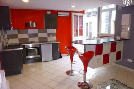 Studio moderne meublé et équipé - Saulieu - Lägenhet