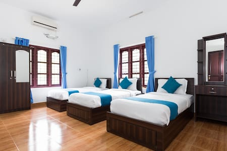 Three bedded comfort room in Sulthan Bathery - Sultan Bathery - Bed & Breakfast