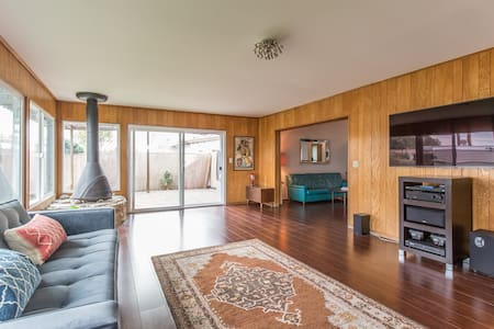 Mad Men Mid-Century quiet Home - Los Ángeles - Casa