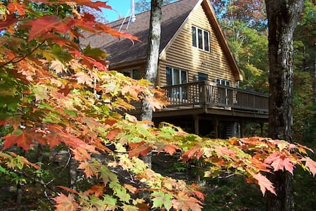 Waterfall Cabin in Maine Wilderness - Greenville - Cabane