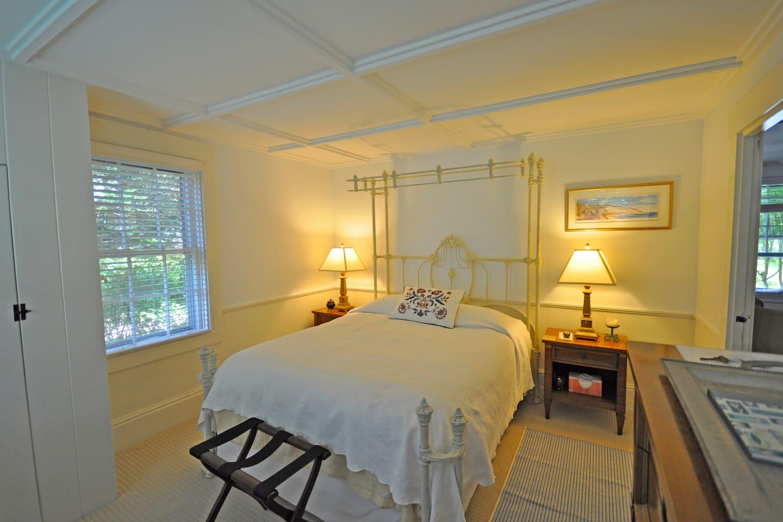 The Joy Room with queen bed.