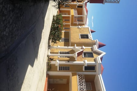 This beautiful guest house is the headquarter of COTEDIH, Coorperation for Integral Human Development. Set in a safe neighborhood in the beautiful hills of Petion-Ville, nearby beaches, shopping, and restaurants. Stay includes 3 meals/day.
