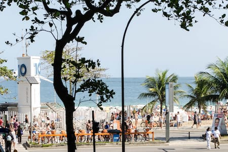 By the beach in ipanema with charm