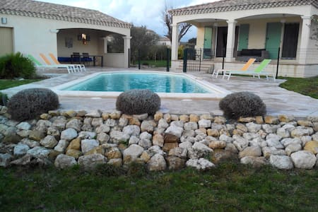 4 BR Villa Uzes In Southern France - Casa