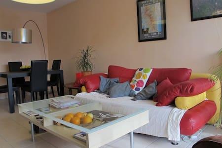Appart T3 lumineux avec balcon proche lac d'Annecy - Cran-Gevrier - Apartmen