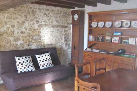 Charming  Holiday Cottage -  Blanzaguet-Saint-Cybard - Talo