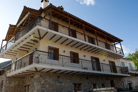 Avissinia is a traditional guesthouse in Levidi, Arcadia. The perfect place for those who want to combine an excursion to a primeval natural environment with the luxury of a genuine Greek hospitality. Just a 2 hours bus ride from Athens.