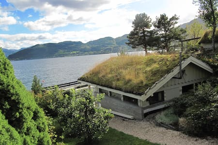 Holiday by the fiord in Hardanger - Blockhütte