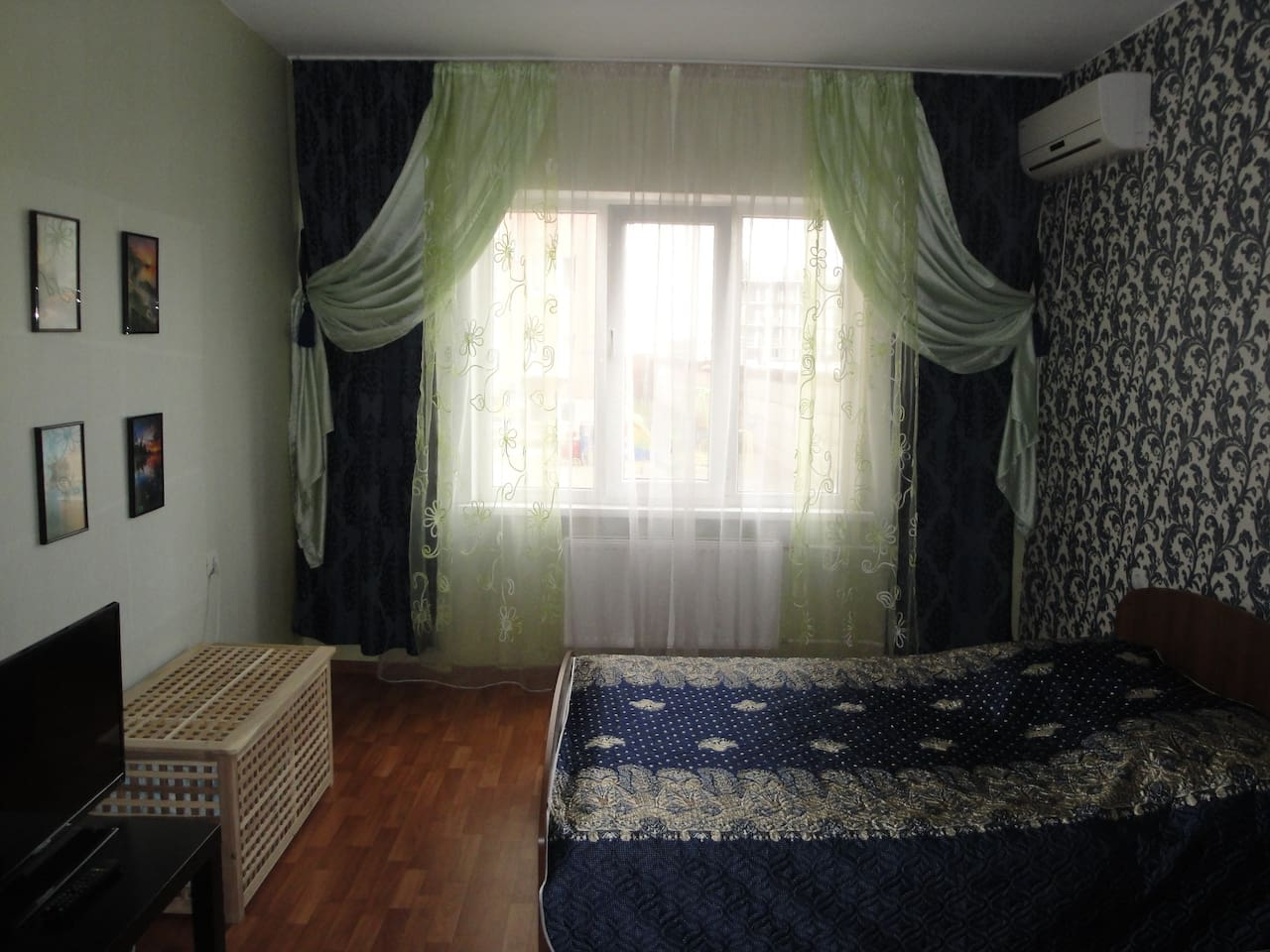 Spacious bright apartment, 5 seats