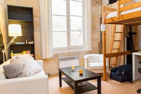 Cozy studio in heart of Bordeaux
