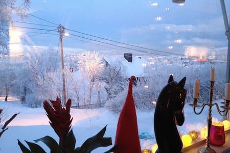Fjord gazing to morning coffee - Talo