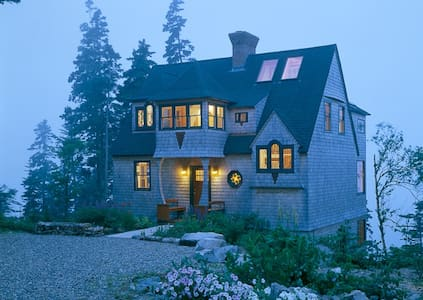Oceanfront Gem, Downeast Maine - Haus