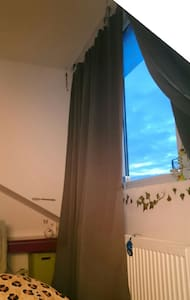Chambre dans les nuages - Bruxelles - Apartment